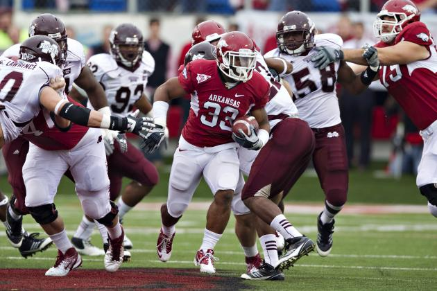 Arkansas vs Mississippi State: Latest Spread Info, BCS Impact and Predictions