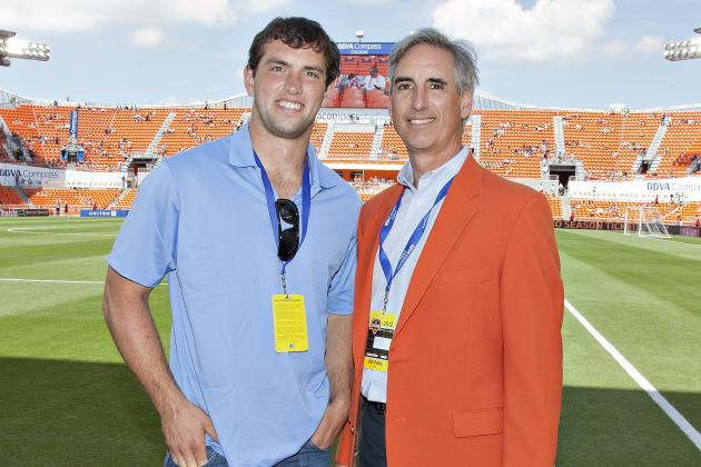 Like Father, Like Son: Andrew Luck vs. Oliver Luck Simulation