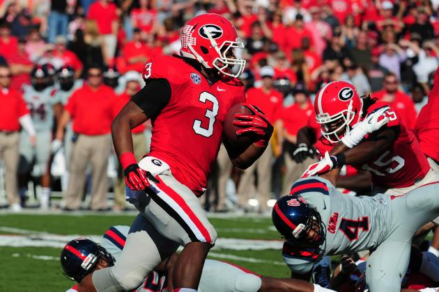 Georgia Football: Why Todd Gurley Is Already the Best Running Back in the SEC