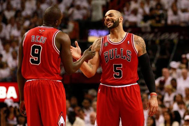 Carlos Boozer and Luol Deng Must Embrace Consistency for Derrick Rose-Less Bulls