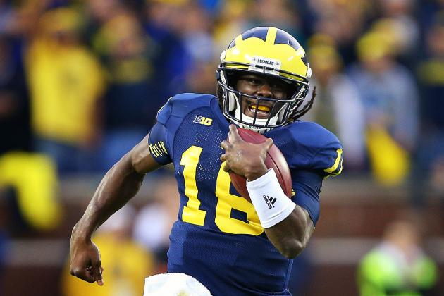 Denard Robinson Might Play on Senior Day in Symbolic Gesture