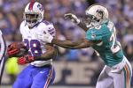 Bills Pick Off Tannehill Twice to Secure 19-14 Win