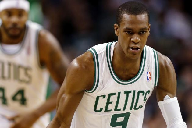 Celtics' Rondo Day to Day with Sprained Ankle