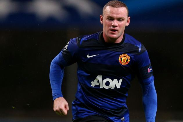 Wayne Rooney a Doubt for Manchester United's Trip to Norwich City