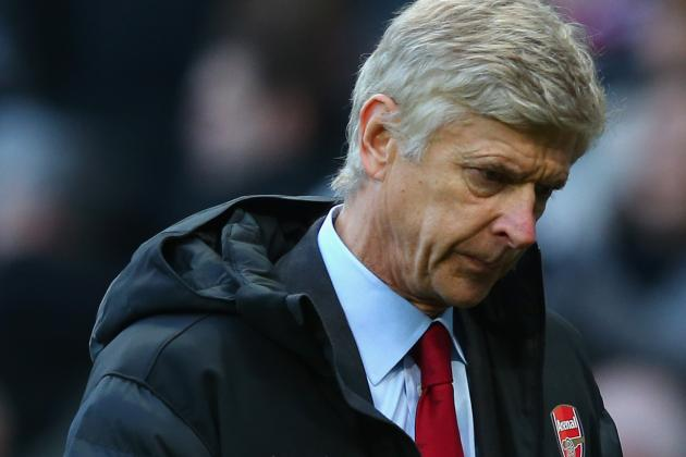 Wenger Facing Serious Injury Crisis Ahead of North London Derby