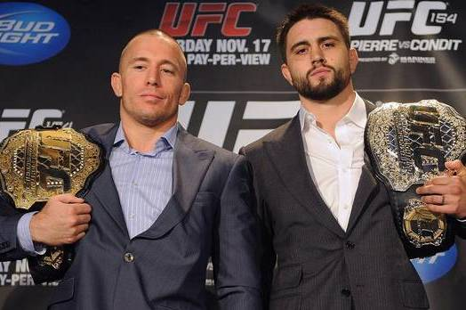 "UFC ""Quick Break"": Georges St. Pierre vs Carlos Condit"