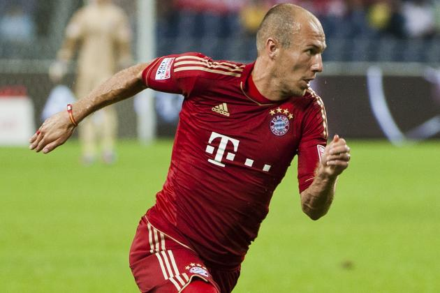 Bayern Winger Robben out with Injury Again