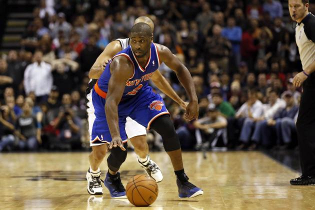Raymond Felton Wins NBA Player of the Night After Lifting Knicks Past Spurs