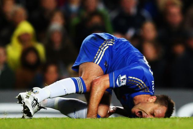 Report: Chelsea Captain John Terry Expected to Return in 3 Weeks