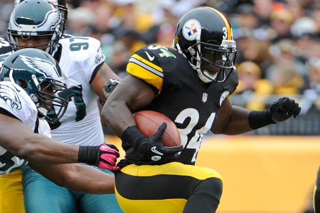 Mendenhall Is Likely to Start at RB for Steelers