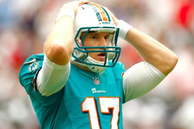 Dolphins vs. Bills: Miami's Offensive Letdown Not Entirely on Ryan Tannehill