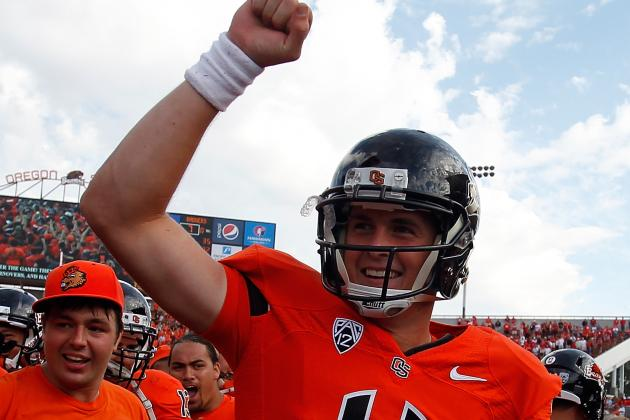 Sean Mannion Gets the Start at QB for Beavers