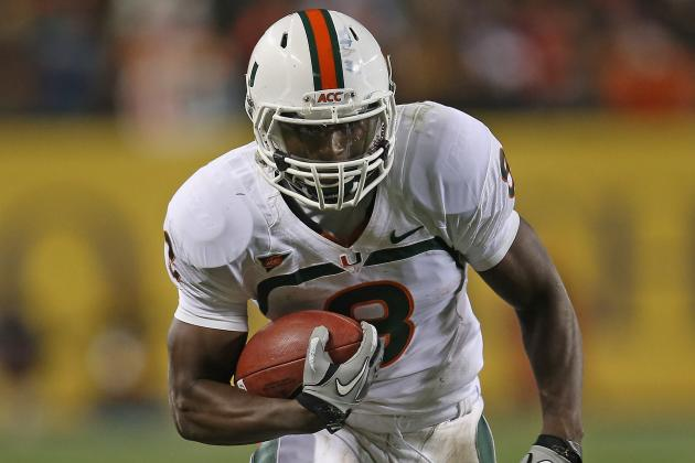 Duke Johnson on Way to Becoming Most Prolific Return Man in Canes History