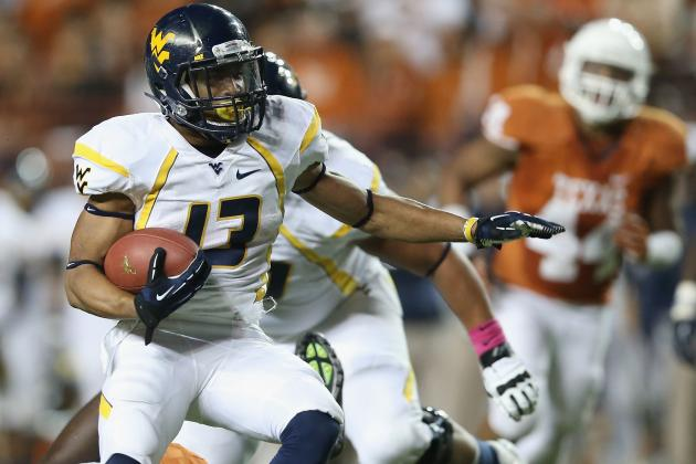 WVU's Buie Hopes to Run Well vs. Oklahoma