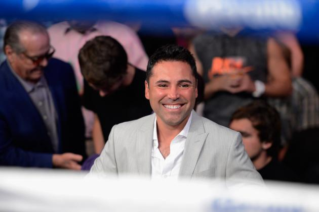Boxing: De La Hoya Wants to Work with Arum but Won't Beg