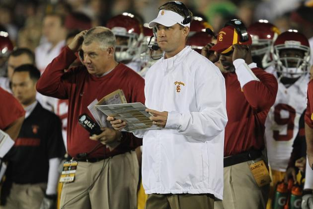 Is Lane Kiffin Guaranteed to Make It Through USC's Sanctions with His Job?