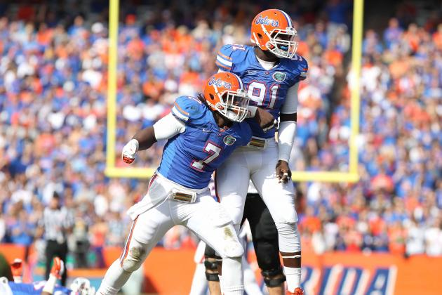 Gators Seniors to Be Celebrated Before Final Home Game