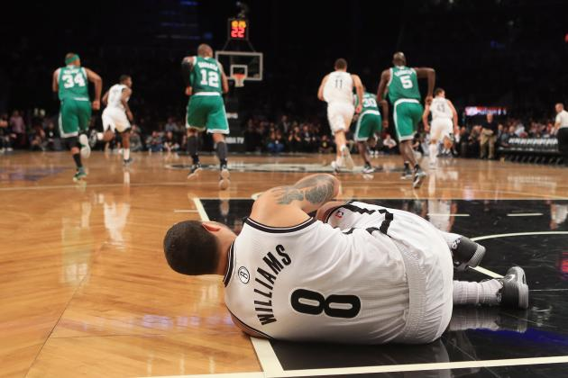 Deron Williams Shakes off Leg Injury to Power Team Past Celtics