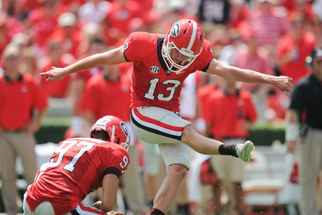 Freshman Kicker Morgan Starting to Feel More Comfortable
