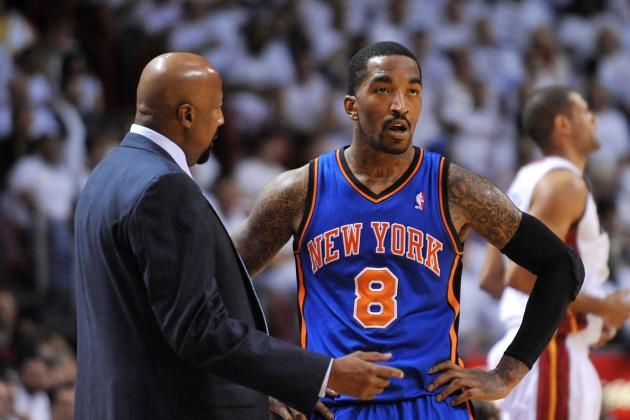 Knicks' Woodson High on 'Professional' Smith