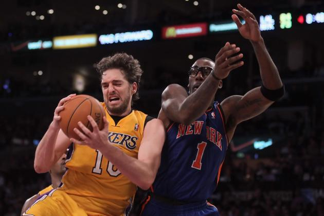 NBA: Why Lakers, Knicks Should Swap Pau Gasol and Amar'e Stoudemire