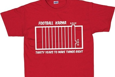 Nebraska Football: Husker Shirt Says Phantom TD Call vs. Penn State Was 'Karma'