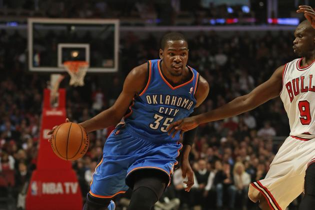 Thunder Likely to Tweak Durant's Substitution Pattern