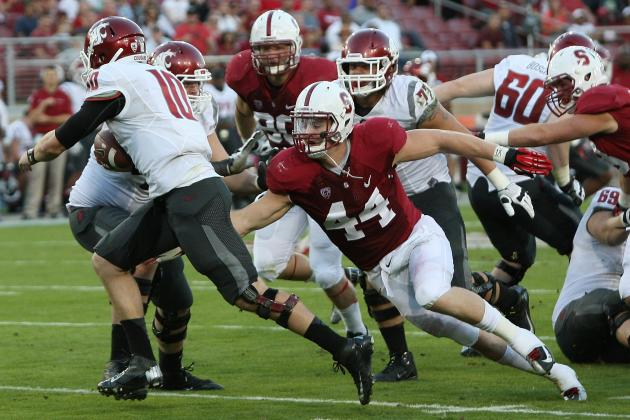 Behind D Line, the Cardinal Are Stacked for Oregon Showdown