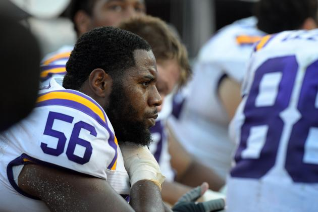Freshmen Duo on LSU Offensive Line Continues to Thrive