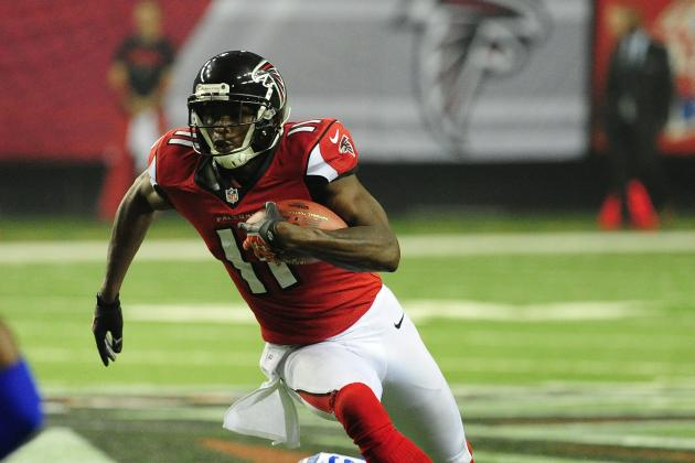 Julio Jones: Falcons Should Be Cautious with WR's Ankle Injury