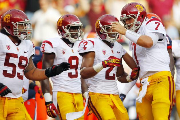 USC vs. UCLA: Why Trojans' Playmakers Will Blow the Bruins Away