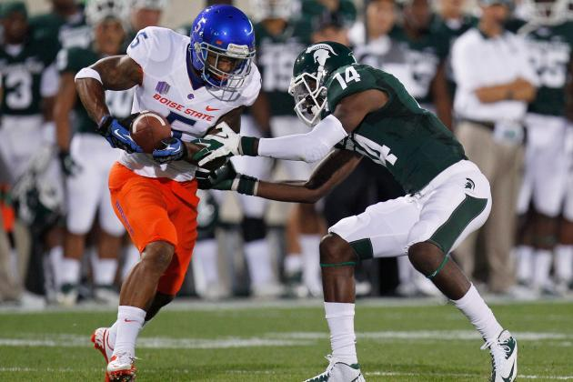 Boise State Cornerback Jamar Taylor's Talent, Work Ethic Could Land Him in NFL