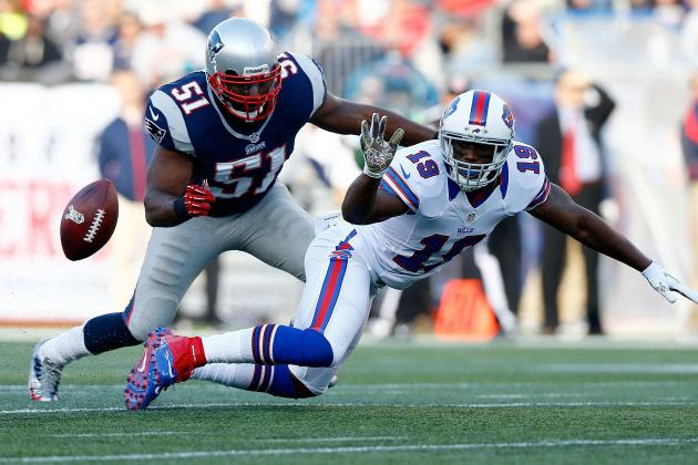 LB Jerod Mayo Fined $10K for Hit vs Bills