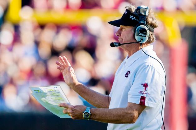 Spurrier Can Join Bear Bryant in SEC Record Book