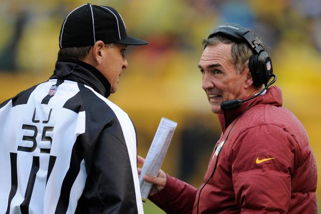 Washington Redskins: Mike Shanahan Missing $3,700 & DeAngelo Hall $30,000 Fine