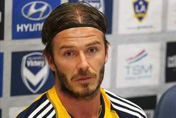 Beckham Laughs off Rumors of a Move to Australia