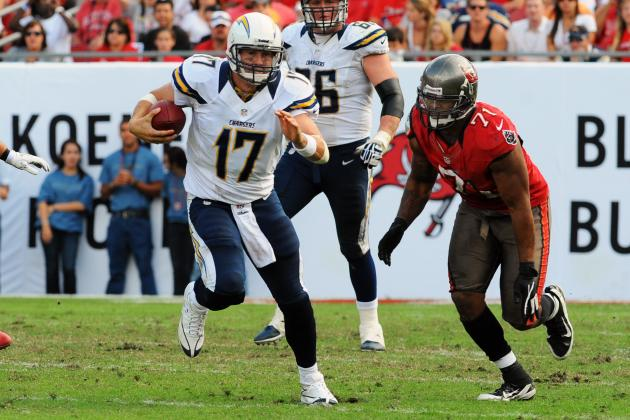 Norv Turner, Antonio Gates Stand Behind Philip Rivers