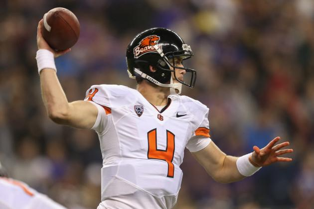 Oregon State Football: Beavers Must Stick with QB Sean Mannion