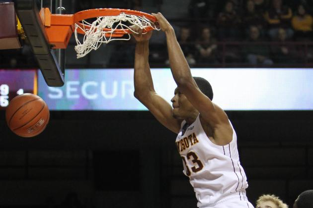 Williams Leads Way in Gophers' Latest Rout