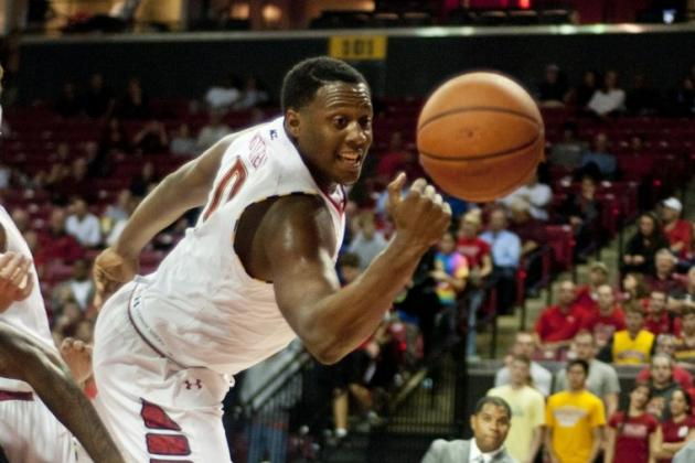 Meet Maryland Forward Charles Mitchell, Rebounding Machine