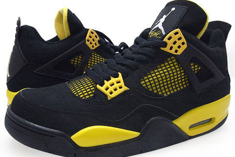 Breaking Down New Air Jordan IV 'Thunder' Shoes