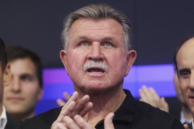 Report: Mike Ditka Suffers a 'Very Minor Stroke'