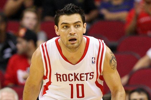 Delfino Will Not Play vs. Blazers Due to Groin Injury