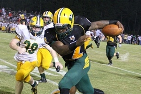 Alabama Football Recruit Derrick Henry Breaks High School Rushing Record