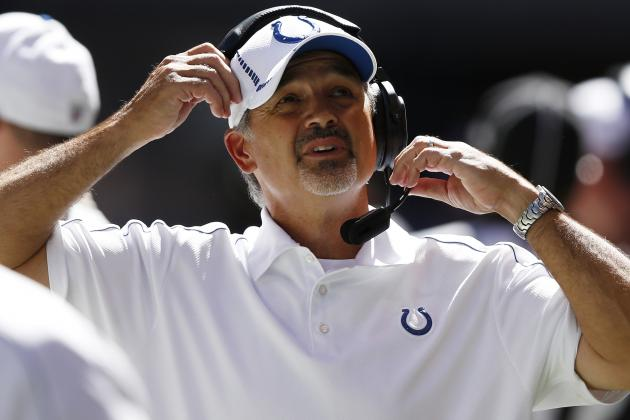Pagano Visits Colts Again, Two Days Before Showdown with Patriots