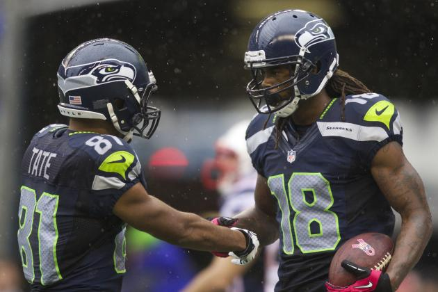 Fantasy Football:  Can You Trust Sidney Rice and Golden Tate?