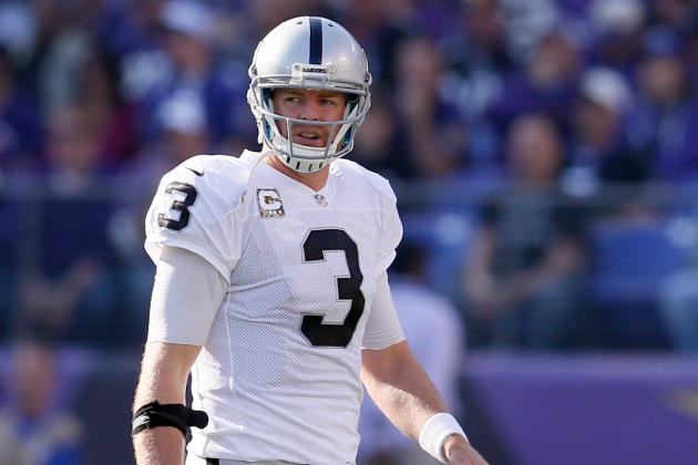 Carson Palmer's NFL Career Is Being Wasted with the Oakland Raiders