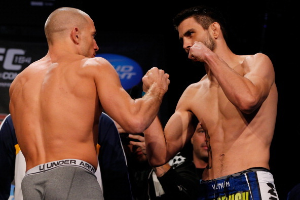 UFC 154: Weigh-in Results for Georges St-Pierre vs Carlos Condit Fight Card