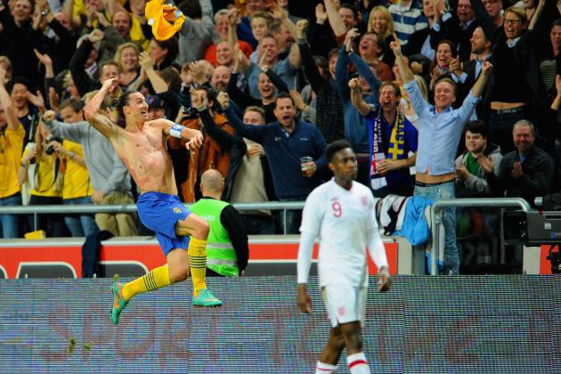Zlatan Ibrahimovic: Bicycle Kick vs. England Not Greatest Goal of All Time