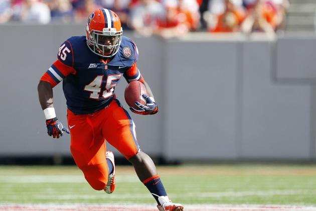 Syracuse Football Tailback Tandem Has Been Outstanding in Ball Security so Far